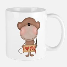 I love you- monkey Mug