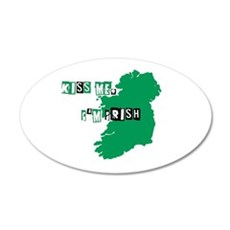 Kiss me, Im Irish Wall Decal