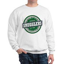 Ski Resort Vermont Dark Green Sweatshirt