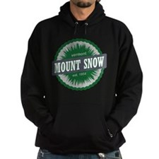 Ski Resort Vermont Dark Green Hoodie