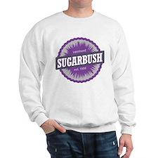 Ski Resort Vermont Purple Sweatshirt
