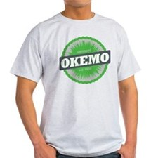 Ski Resort Vermont Lime Green T-Shirt