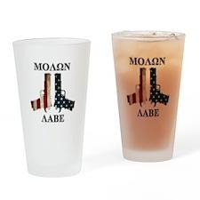 Molon Labe (Come and Take Them) Drinking Glass