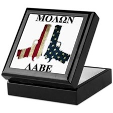 Molon Labe (Come and Take Them) Keepsake Box