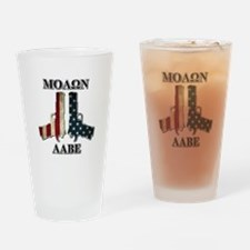 Molone Labe (Come and Take Them) Drinking Glass