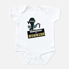 Numchucks for Mummies Infant Bodysuit