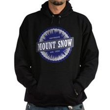 Ski Resort Vermont Navy Blue Hoodie