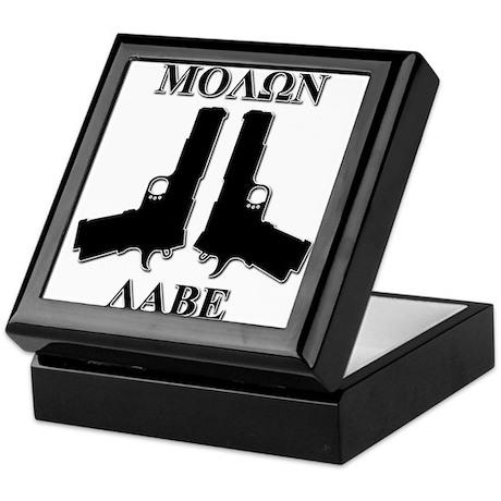 Molon Labe (Come and Take Them) Keepsake Box