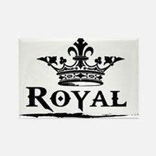 Royal Crown Rectangle Magnet