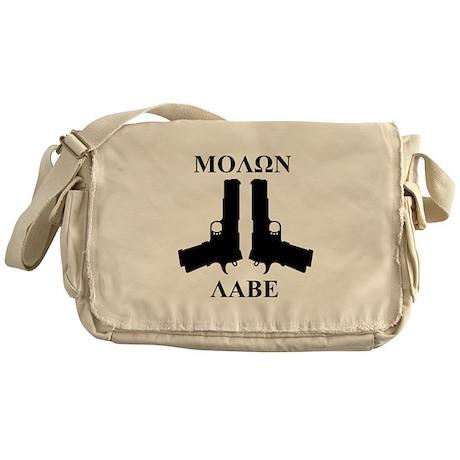 Molon Labe (Come and Take Them) Messenger Bag