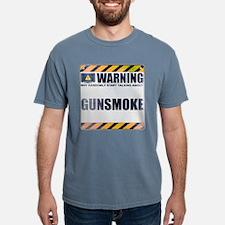 Warning: Gunsmoke Mens Comfort Colors Shirt