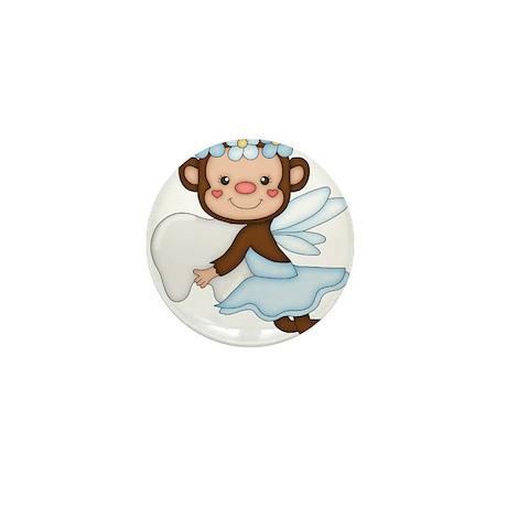 monkey girl Mini Button