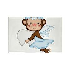 monkey girl Rectangle Magnet