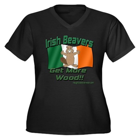 Irish Beavers Get More Wood Plus Size T-Shirt