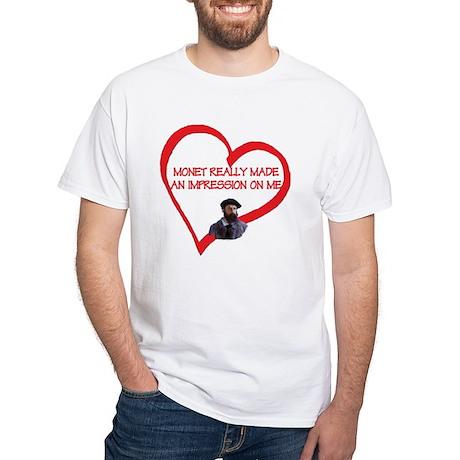 I Love Monet White T-Shirt