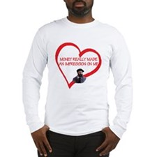 I Love Monet Long Sleeve T-Shirt