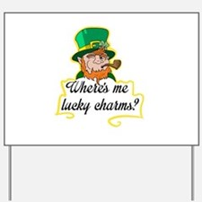 Lucky Charms Yard Sign