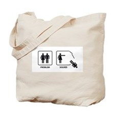 Female's Problem Solved Tote Bag