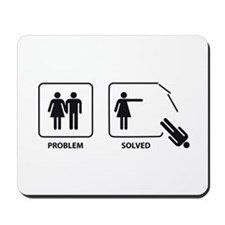 Female's Problem Solved Mousepad