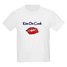 Kiss Da Cook Kids T-Shirt