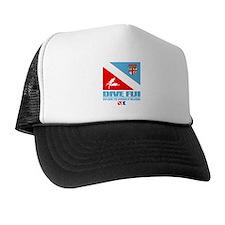 Dive Fiji Trucker Hat
