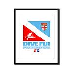 Dive Fiji Framed Panel Print
