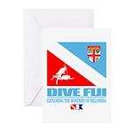 Dive Fiji Greeting Cards (Pk of 10)