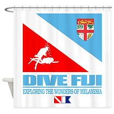 Dive Fiji Shower Curtain