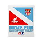 Dive Fiji Throw Blanket