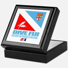 Dive Fiji Keepsake Box