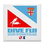 Dive Fiji Tile Coaster