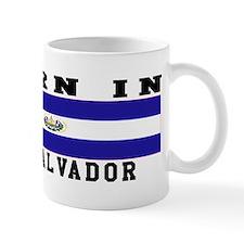Born In El Salvador Mug