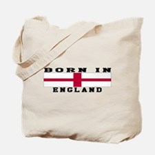 Born In England Tote Bag