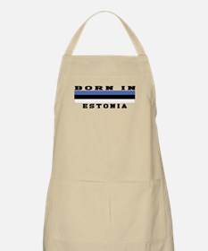 Born In Estonia Apron