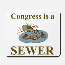 Congress is a Sewer Mousepad