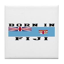 Born In Fiji Tile Coaster