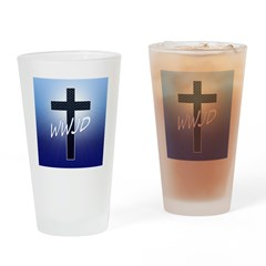 WWJD Drinking Glass