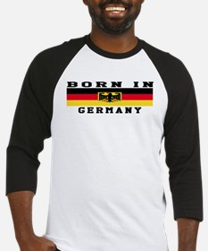 Born In Germany Baseball Jersey