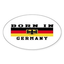 Born In Germany Decal
