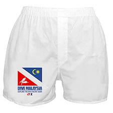 Dive Malaysia Boxer Shorts