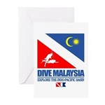 Dive Malaysia Greeting Cards (Pk of 10)