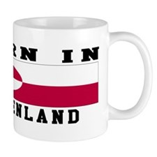 Born In Greenland Mug