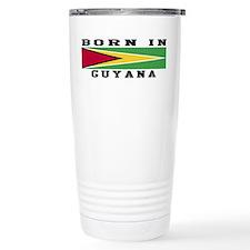Born In Guyana Travel Coffee Mug