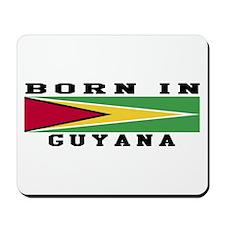 Born In Guyana Mousepad