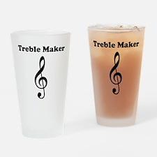 Treble Maker Drinking Glass