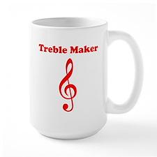 Treble Maker Red Mug
