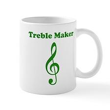 Treble Maker Green Mug
