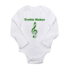 Treble Maker Green Body Suit