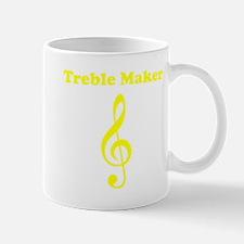Treble Maker Yellow Mug