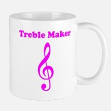 Treble Maker Pink Mug